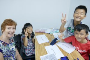 Kids English Class Singapore