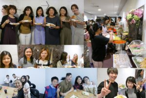Improve English Speaking Skills with Classmates @ Lunch