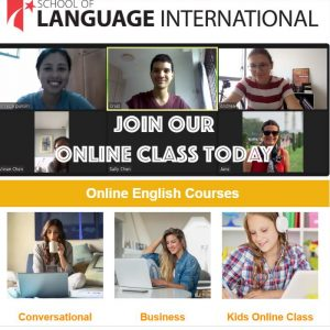 Learn English Online with School of Language Singapore