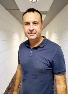 Senior French teacher Laurent